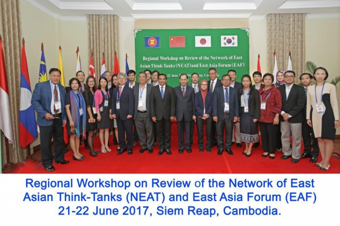 Regional Workshop on Review of the Network of East Asian Think-Tanks (NEAT) and East Asia Forum (EAF)